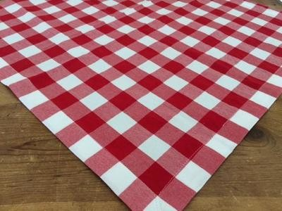 Overlay - Red / White check