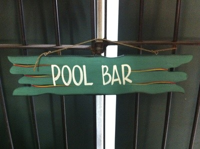 Sign - Pool Bar