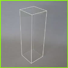 Plinth - Acrylic 1.2m H