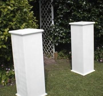 Plinth - White Wood
