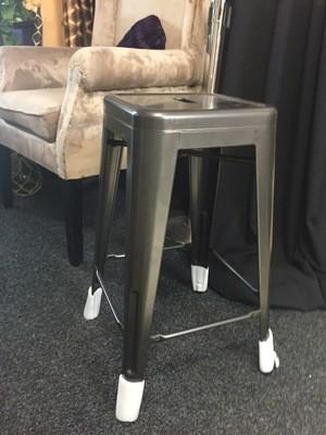Bar stools - Charcoal