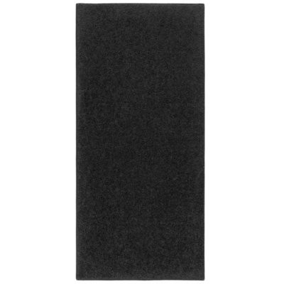 Carpet - Black Plush 6m 1.2m wide