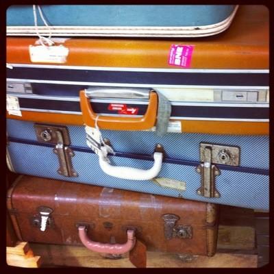 Suitcase - vintage