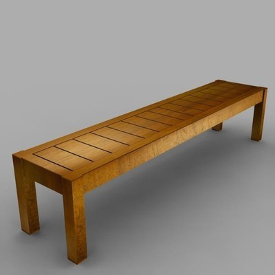 Wooden bench 1.5m