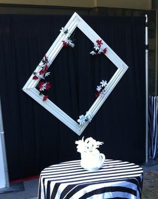 Frame - White 1.2m