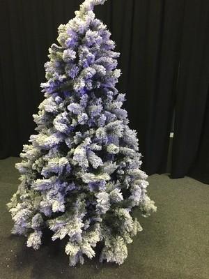 Christmas Tree - with snow 210cm