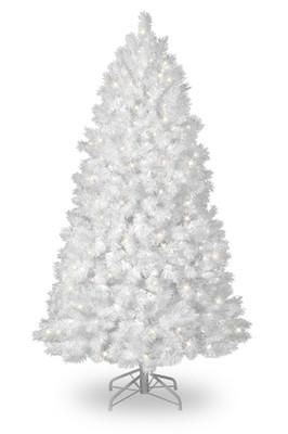 Christmas Tree - White with snow 210cm