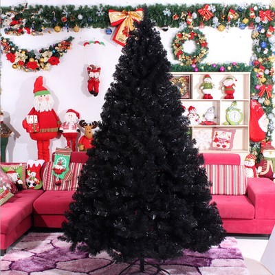Christmas Tree - Black - 210cm