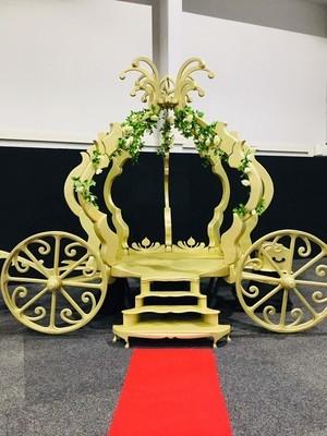 Cindarella Carriage - Gold