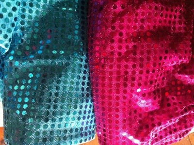 Bar Leaner Covers - Sequin - Blue