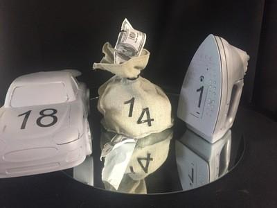 Monopoly centerpieces