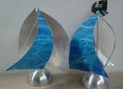 Aluminium Centerpiece Boats