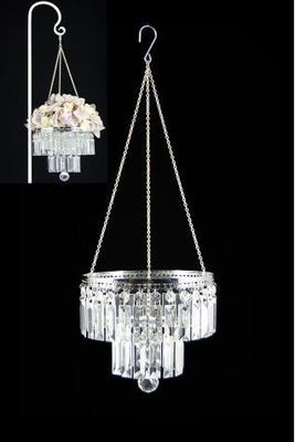 Acrylic Crystal Chandelier - small