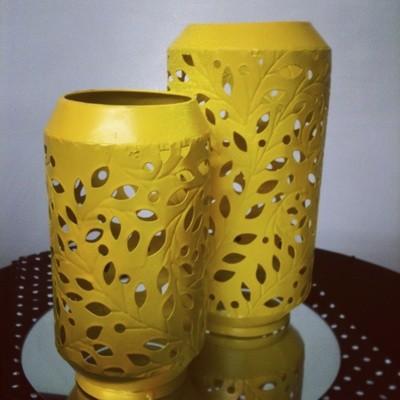 Lantern - Yellow 25cm