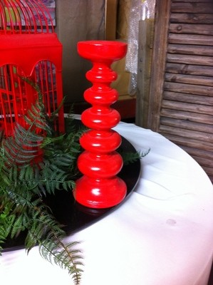 Candle stick - Red