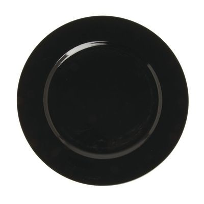 Charger Plate - Plain Black
