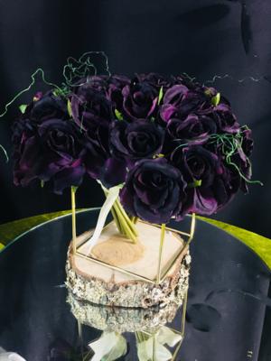 Roses - Bouquet Purple