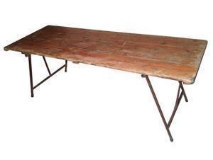 Trestle table - 1.2m
