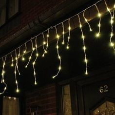 Icicle Lights - Warm White - 5m sections