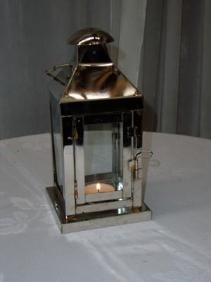 Lantern - Silver 20cm H