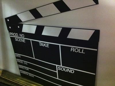 Clap Board - Hollywood