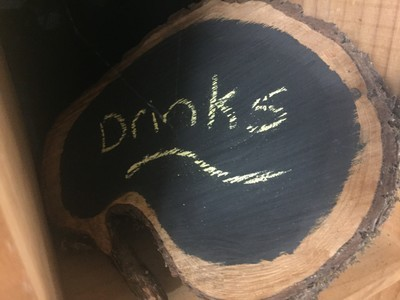 Wooden Chalkboard Sign