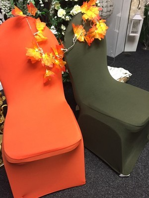 Chair Cover - lycra - Orange