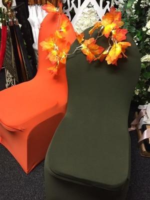 Chair Cover - lycra - Dark green