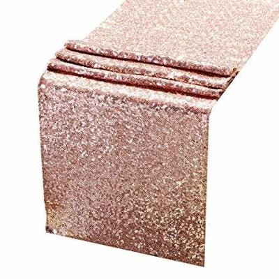 Table runner - Sequin - rose gold / Blush
