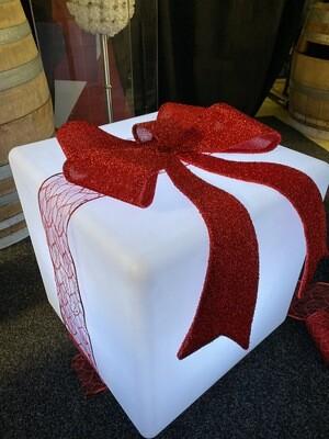 LED Christmas Cubes 50cm square