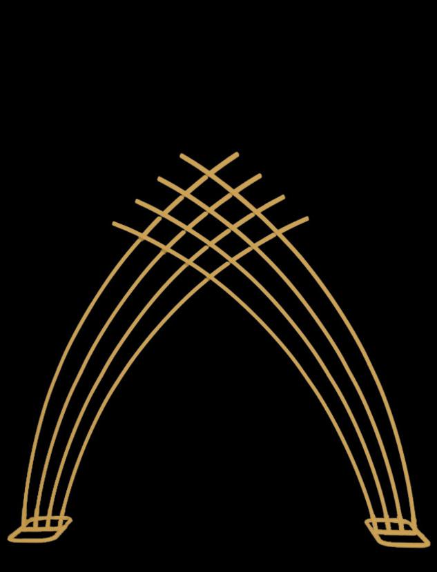 Art Deco Backdrop - Gold
