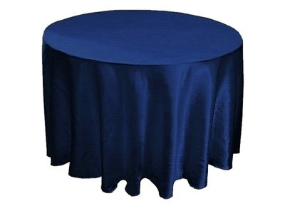 Tablecloths - Satin - Navy Blue