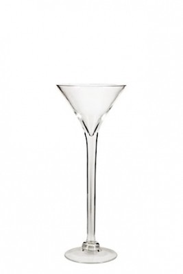 Martini Glass Vase - 50cm (Narrow shape)