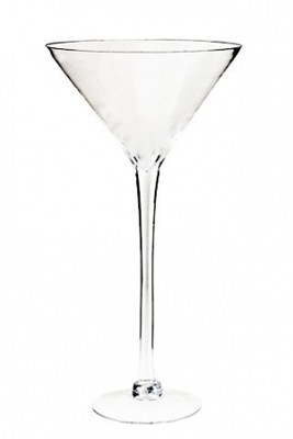 Martini Glass Vase - 50cm