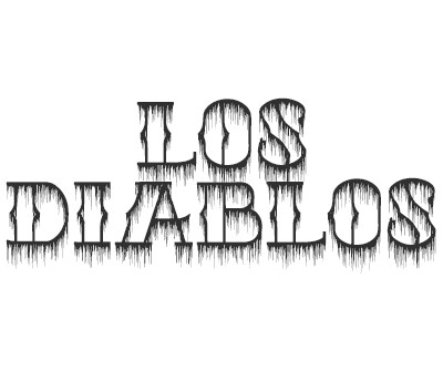 Font license for Los Diablos