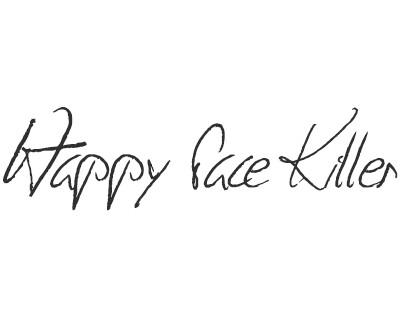 Font License for Happy Face Killer