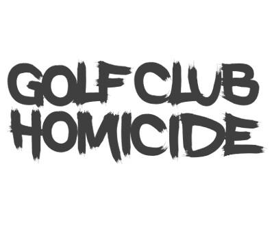 Font License for Golf Club Homicide