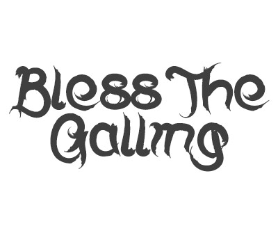 Font License for Bless The Galling