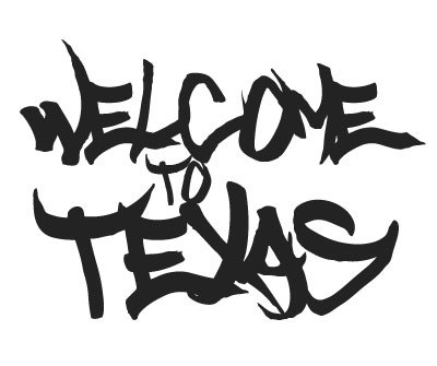 Font License for Welcome to Texas