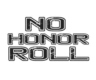 Font License for No Honor Roll