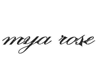 Font License for Mya Rose
