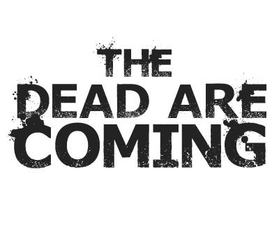 Font License for Dead Are Coming