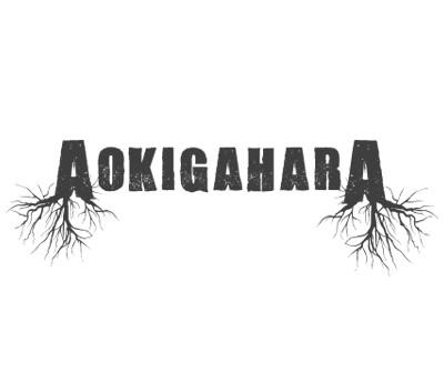 Font License Aokigahara