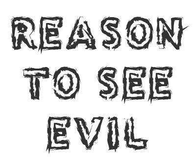 Font License for Reason to see Evil