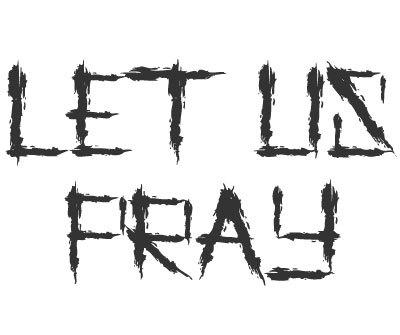 Font license for Let us Pray