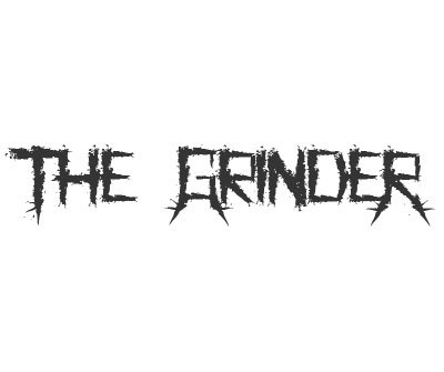 Font License for The Grinder