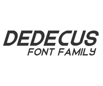 Font License for Dedecus