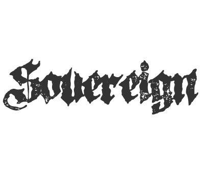 Font License for Sovereign
