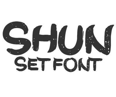 Font License for Shun Set
