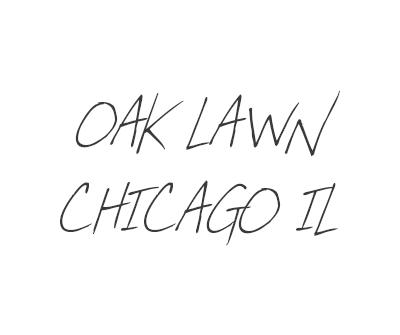 Font License for Oak Lawn